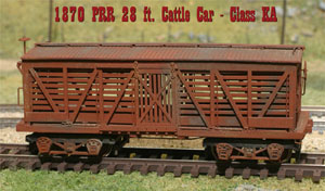 Alkem Scale Models PRR 1870 Stock Car