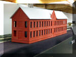 Craig Bisgeier's Kitbash of an RDA Easton Mill kit into a textile mill for Winnipauk, CT.
