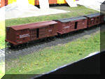 Just three of the new freight cars to be put on the layout soon!