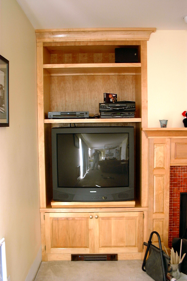 Fireplace Mantel And Entertainment Center