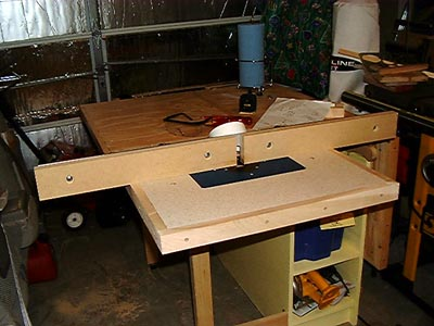 The Portable Router Table